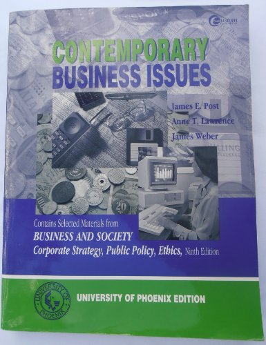 9780390999559: Contemporary Business Issues