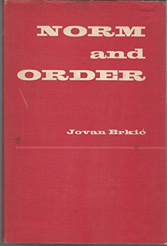 Norm and Order: Brkic, Jovan