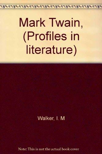 9780391000674: Mark Twain, (Profiles in literature)