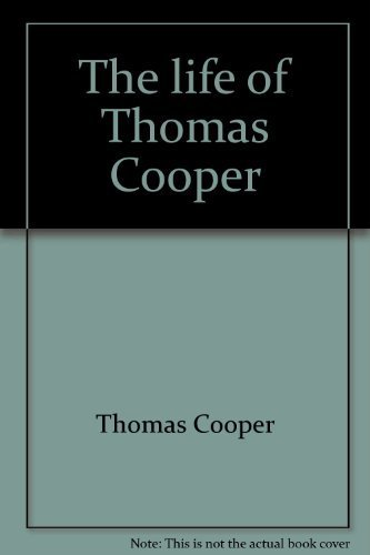 The Life of Thomas Cooper: Cooper, Thomas