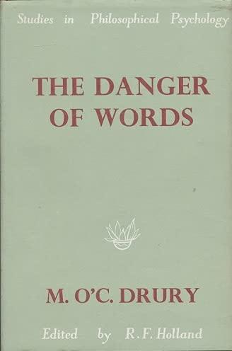 9780391002777: The Danger of Words (Studies in Philosophical Psychology)