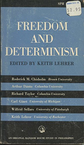 9780391005372: Freedom and Determinism