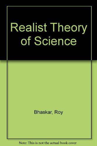 9780391005761: Realist Theory of Science