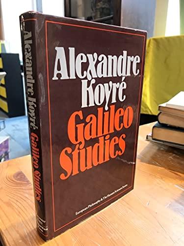 Galileo Studies. Translated . . . by John Mepham.: KOYRÉ, Alexandre (1892-1964):