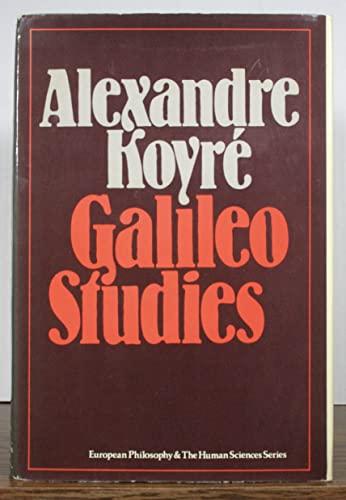 9780391007604: Galileo Studies (European Philosophy and the Human Sciences)