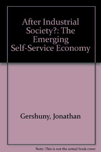 9780391008373: After Industrial Society?: The Emerging Self-Service Economy