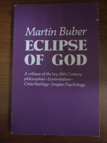 9780391009028: Eclipse of God