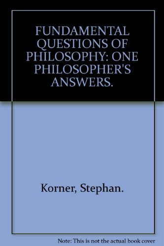 9780391011878: Fundamental Questions in Philosophy