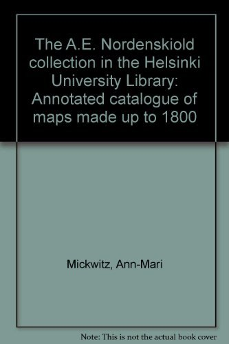 The A.E. Nordenskiold collection in the Helsinki: Ann-Mari Mickwitz
