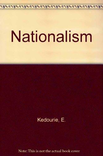 9780391020771: Nationalism