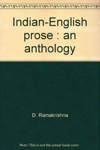 Stock image for Indian-English prose : an anthology for sale by Books  Revisited