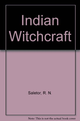 9780391024809: Indian Witchcraft