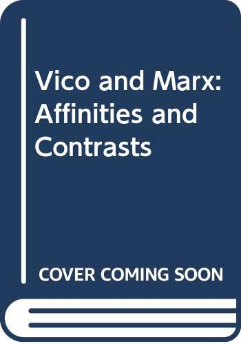 9780391026292: Vico and Marx: Affinities and Contrasts