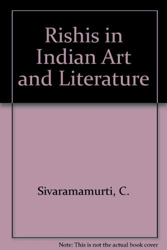 9780391026544: Rishis in Indian Art and Literature