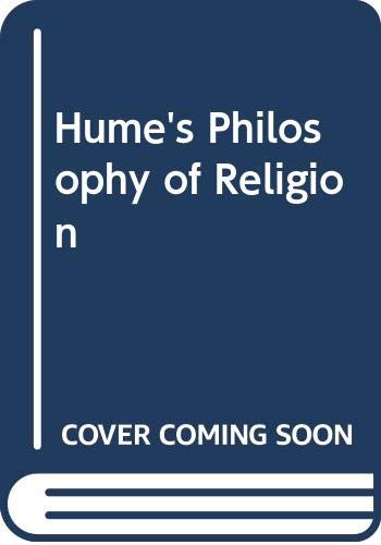 9780391035645: Hume's Philosophy of Religion