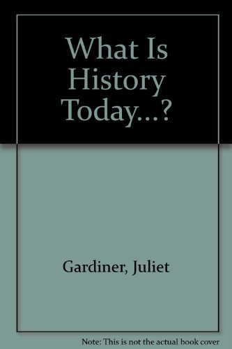 9780391035706: What Is History Today...?