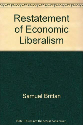 9780391035775: A Restatement of Economic Liberalism