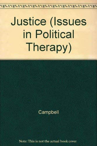 9780391035935: Justice (Issues in Political Therapy)