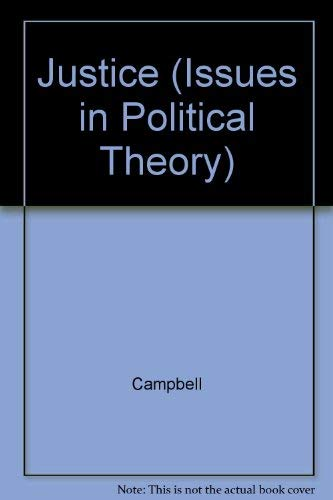 9780391035942: Justice (Issues in Political Theory)