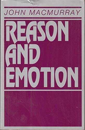 9780391037298: Reason and Emotion