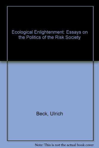 ecological enlightenment essays on the politics of 9780391038318 ecological enlightenment essays on the politics of the risk society