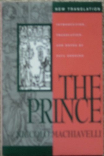 The Prince.: MACHIAVELLI, Niccolo.