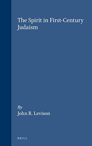 9780391041318: The Spirit in First-Century Judaism