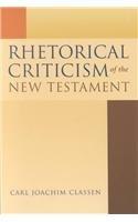 9780391041677: Rhetorical Criticism of the New Testament