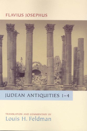 9780391042216: Judean Antiquities Books 1-4: Translation and Commentary