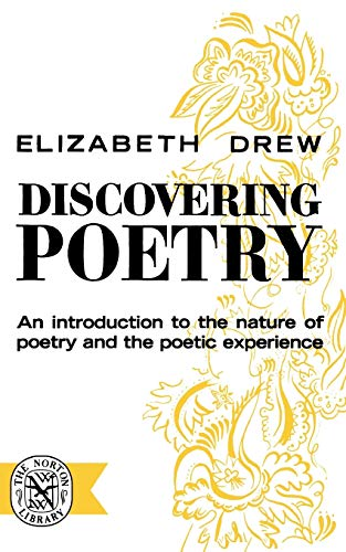 9780393001105: Discovering Poetry