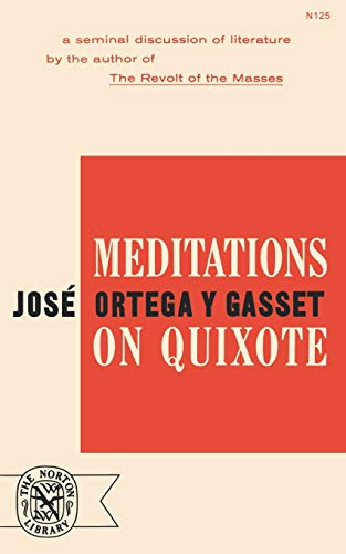 9780393001259: Meditations on Quixote
