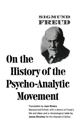 On the History of the Psycho-Analytic Movement: Freud, Sigmund