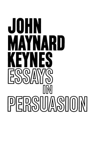 essays persuasion by john nard keynes first edition abebooks essays in persuasion john nard keynes