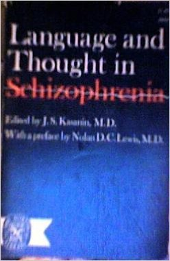 9780393002522: Language and Thought in Schizophrenia
