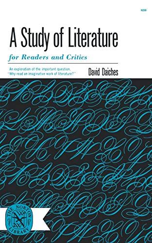 9780393002690: Study Of Literature