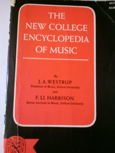 9780393002737: New College Encyclopedia of Music