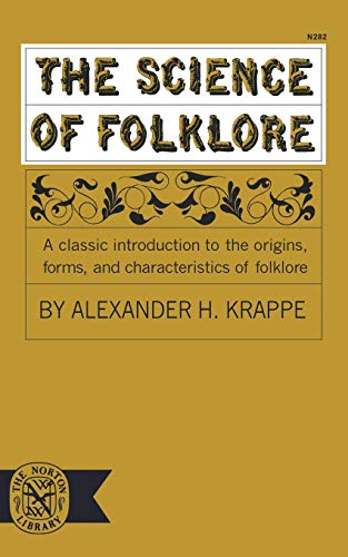 9780393002829: The Science of Folklore