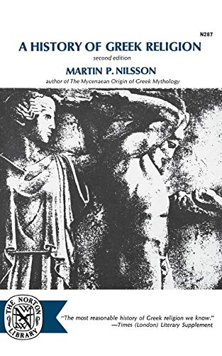 9780393002874: A History of Greek Religion, second edition