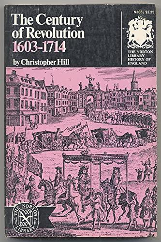 9780393003659: Century of Revolution, 1603-1714