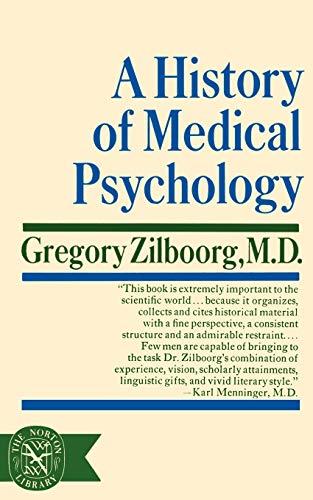 9780393003833: A History of Medical Psychology