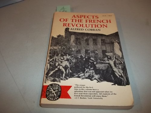 9780393005127: Aspects of the French Revolution (The Norton library)