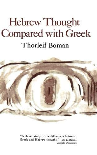 9780393005349: Hebrew Thought Compared With Greek
