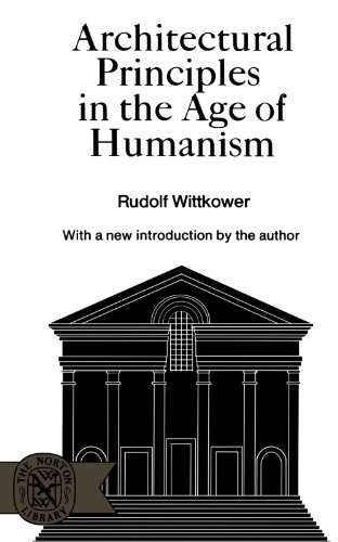 9780393005998: Architectural Principles in the Age of Humanism