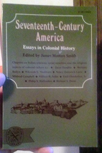 9780393006292: Seventeenth-century America: Essays in Colonial History (The Norton library, N629)