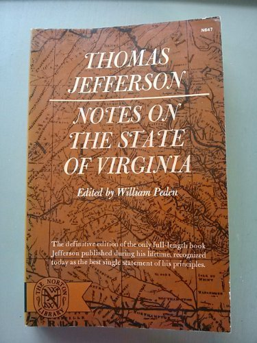 9780393006476: Notes on the State of Virginia (The Norton library)