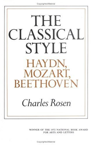 9780393006537: The Classical Style: Haydn, Mozart, Beethoven