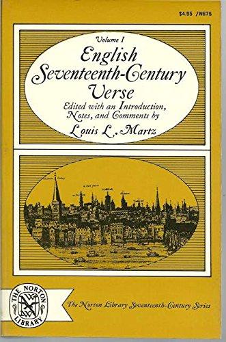English Seventeenth-Century Verse, Volume II.: Richard Standish Sylvester (Editor).