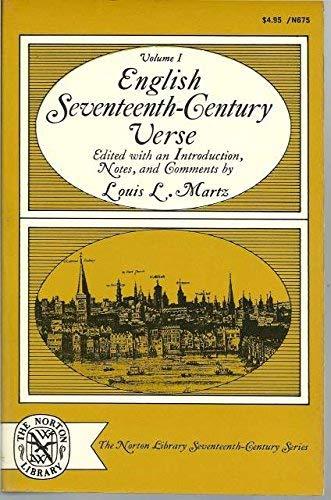 9780393006759: English Seventeenth-Century Verse