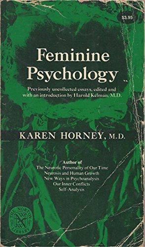9780393006865: Feminine Psychology (The Norton Library)