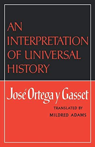 9780393007510: An Interpretation of Universal History